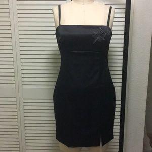 Spaghetti Strap Cocktail Mini Dress